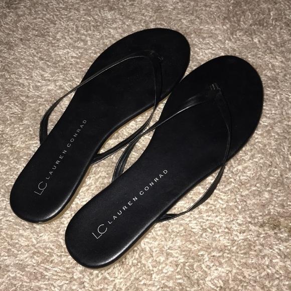 f76e7c46f14c LC Lauren Conrad Shoes - Black thong sandal flip flops LC Lauren Conrad 7